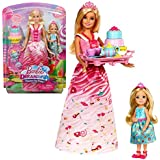 Barbie - Dreamtopia - Muñeca Candy Princesa y Chelsea Playset