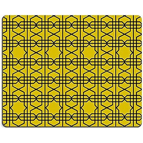 liili Mouse Pad de goma natural mousepad abstracto Vintage Papel Pintado Geométrico Patrón Sin Fisuras imagen ID 23402780