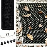 Powerpreise24 Lichtschacht Abdeckung 60 x 120 aus Fiberglas Individuell zuschneidbare Kellerschachtabdeckung Kellerschacht Lichtschachtabdeckung Langlebig und luftdurchlässig