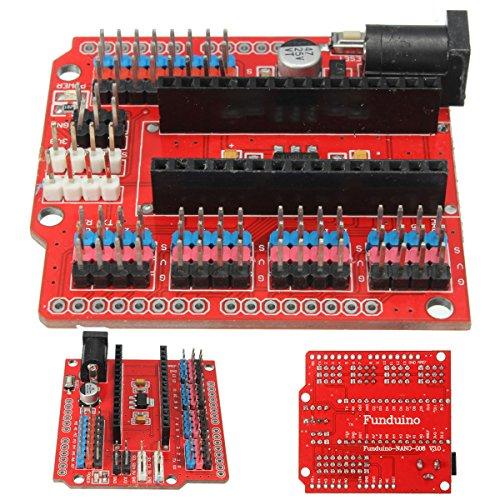 61RvgTl301L - WINGONEER® Expansion Prototype Shield Módulo de placa de extensión de E/S para Arduino Nano V3.0