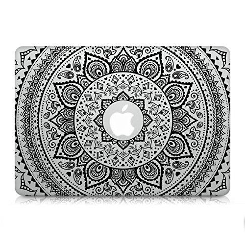 kwmobile Aufkleber Sticker Indische Sonne Design für Apple MacBook Pro Retina 13