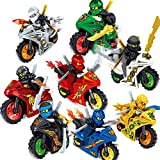 Serface Building Blocks ABS Cartoon Motorcycle 3D Mattoncini Giocattolo Miniature Action Figures Educational Toy Sets Toy