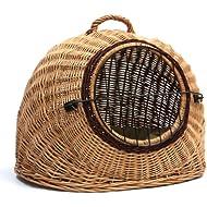 Prestige Wicker Igloo Pet Carrier Basket House, Large