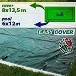 Telo di copertura invernale per piscina 6 x 12 mt per tubolari