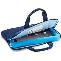 NuPro Custodia con cerniera per tablet Fire 7 Kids Edition, Blu navy/Blu
