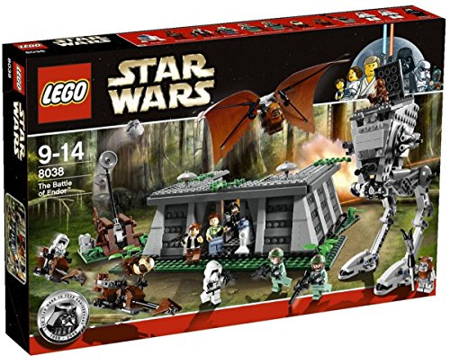 LEGO Star Wars 8038 - The Battle of Endor (Ewok Lego Minifiguren)