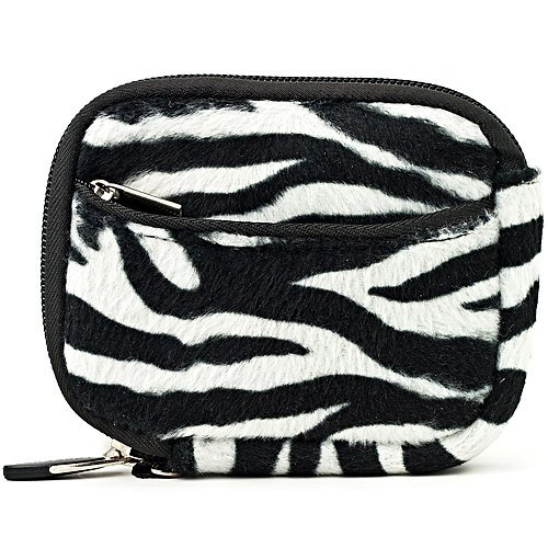 Vangoddy Mini Glove Sleeve Pouch Case For Nikon Coolpix P340, P330, P310, P300, P5000 Point & Shoot Digital Cameras (Zebra) (AD_CAMLEA628_CAM:14:VGLV010)  available at amazon for Rs.1393