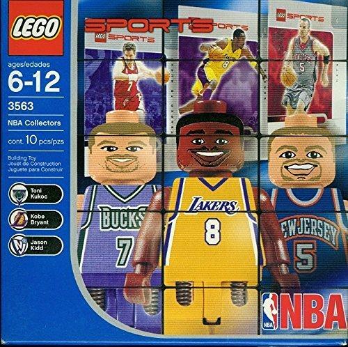 3563 BAKET NBA Toni Kukoc, Jason Kidd and Kobe Bryant