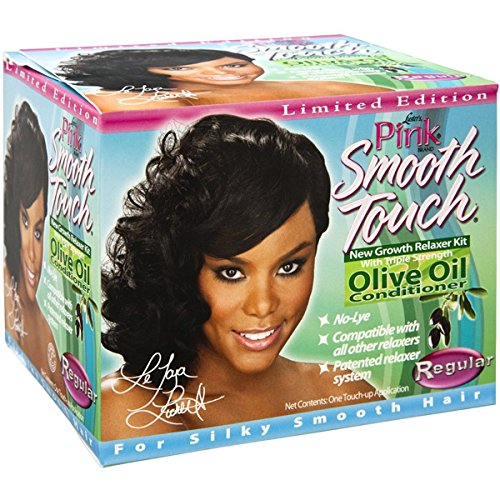 Luster's Kit défrisant normal Pink Smooth Touch pour nouveaux cheveux