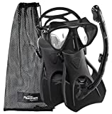 #8: Phantom Aquatics Speed Sport Signature Mask Fin Snorkel Set