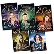 75abd00bfb8 Virginia Andrews Collection 5 Books Set New RRP £ 27.96 (Petals on the wind,
