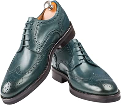 Scarpe da Uomo Made in Italy Derby Full Brogue - StSi – Orciano R
