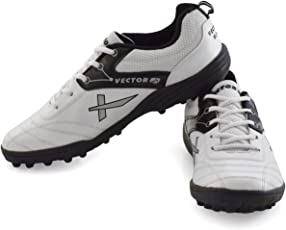 Vector X Blaster Cricket Shoes (White-Black)