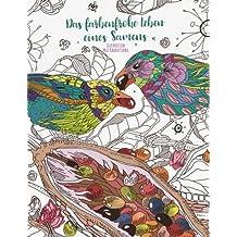 Das farbenfrohe Leben eines Samens — Malbuch für Erwachsene: Die bezaubernde Entwicklung eines Samens zu einem Baum