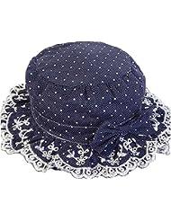 Sombrero floral del pescador del arco para el gorras Sombrero del pescador del bebé de la muchacha gorras