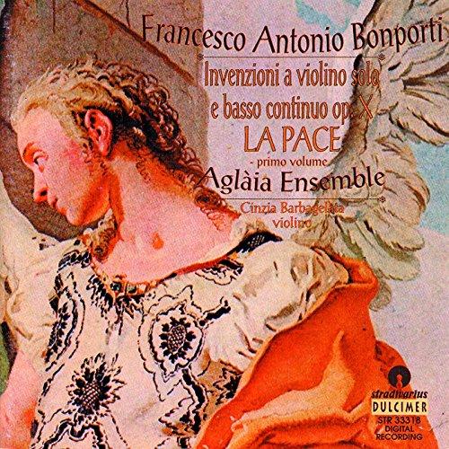 Bonporti: Inventions for Violin, Op. 10, Vol. 1