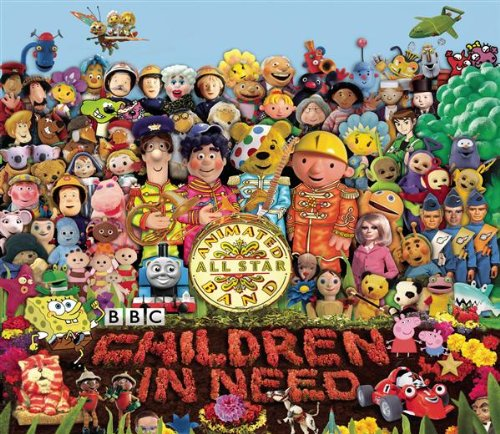 Peter Kay's Animated All Star Band - The Official BBC Children in Need Medley