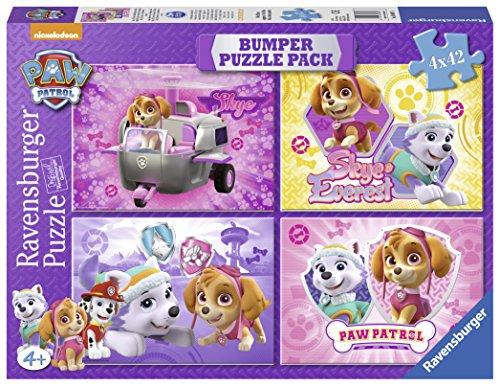 paw-patrol-bumper-pack-skye-everest-puzzles-4-x-42-piezas-ravensburger-06887