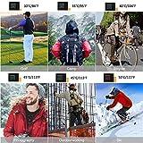 Beheizte Weste Herren - 5 Modus Einstellbar Beheizte Kältewiderstand - Elektronische Heizungskleidung Waschbar USB-Schnittstelle Jagdausrüstung für Motorradfahren Angeln Skilaufen Wandern Camping Golf - 6