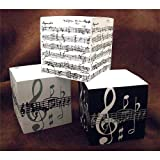 Music Gifts: Telephone Cube - Large (Manuscript)