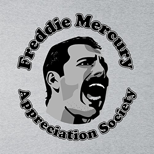 The Freddie Mercury Appreciation Society Women's Vest Heather Grey