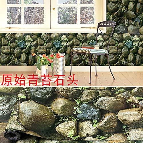 Wasserdichte aufkleber tapete selbstklebende verdickung schlafzimmer dekoration malerei tapete backstein muster wohnzimmer wandaufkleber (Raw-kristalle Große)