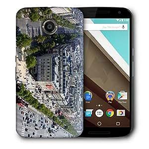 Snoogg Traffic City Designer Protective Phone Back Case Cover For Motorola Nexus 6
