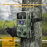 """Toguard Trail Camera 14MP 1080P Infrared Night Vision Game Camera Motion Activated Wildlife Hunting Cam 120° Detection with 0.3s Trigger Speed 2.4"""" LCD Display IP56 Waterproof Bild 4"""
