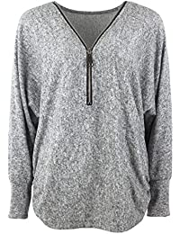 Emma & Giovanni - Top / Pull Zip (Taille S à XXL) - Femme
