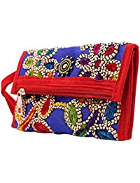 Craft Trade Handmade Antique Designer Embroiderey Rajasthani Clutch Bags For Women