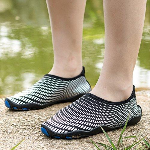AVADAR , Damen Aqua Schuhe Schwarz / Weiß