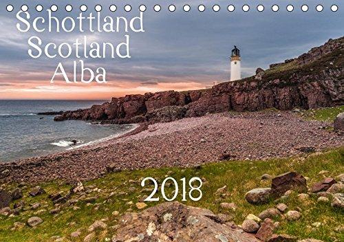 Schottland - Scotland - Alba (Tischkalender 2018 DIN A5 quer): 13 brillante Bilder zeigen Schottlands faszinierende Landschaft auf beeindruckende Weise. (Monatskalender, 14 Seiten ) (CALVENDO Orte) -