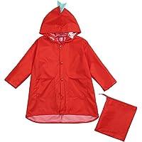 Harpily Poncho Impermeabile Bambini Bambino Giacca Vento Vestiti di Dinosauro Parapioggia per Bambino Asilo Impermeabile…