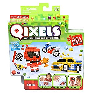 Kanaï Kids - kk87040 - Mini Kit 4 Créations Qixels - Tema Racing