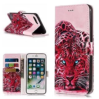 FNBK Hülle Kompatibel mit iPhone 7 Plus/iPhone 8 Plus Handyhülle Marble Tasche Leder Flip Case Brieftasche Schutzhülle für iPhone 7 Plus/8 Plus 5.5