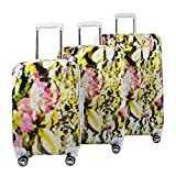 Steve Madden Luggage 3 Piece Hard Case Suitcase Set With Spinner Wheels