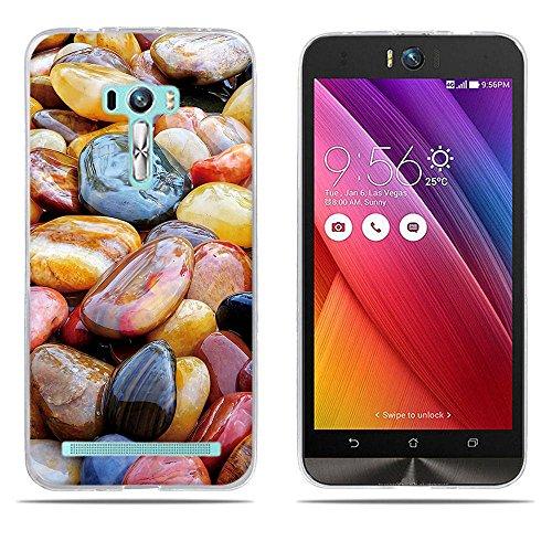 DIKAS ASUS ZenFone Selfie ZD551KL Hülle, Transparent Ultra Slim Tasche Etui Weich Flexibel Crystal Clear Premium TPU Silikon Bumper Schutzhülle für ASUS ZenFone Selfie ZD551KL- Pic: 02