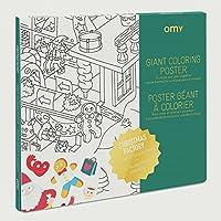 4f4434fdca9 Equilibre et Aventure Grand Poster à colorier de l atelier du Père NOEL  dimensions 100