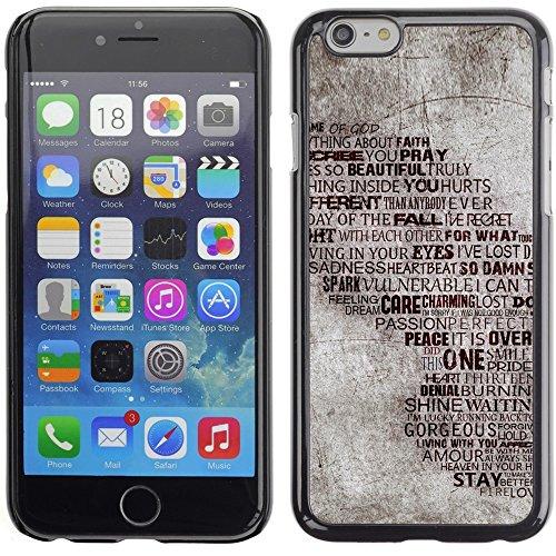 Graphic4You You Make Me Complete Heart Hands love Theme Design Harte Hülle Case Tasche Schutzhülle für Apple iPhone 6 Plus / 6S Plus Design #16