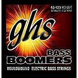 GHS Strings 5ML-DYB Electric Bass Boomer String Sets Nickel Plated Guitar Strings, Custom