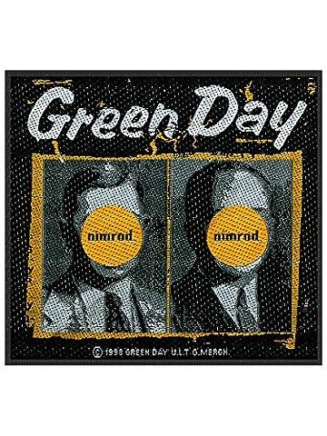 Green Day Demolicious - Green Day Patch Nimrod 10 x 9