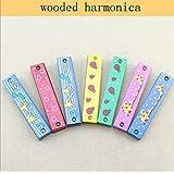 Efbock trémolo armónica de madera para los niños