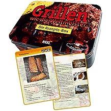 Grillen wie die Weltmeister - Die Rezepte-Box, (inkl. Grillfibel in Metallbox)