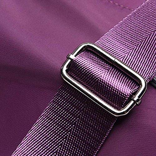 Borse Borsa Da Viaggio Di Piacere Pacchetto Diagonale Messaggero Borsa Casuale Oxford Spalla Panno Di Moda Borsa Purple