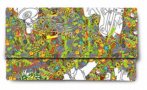 Sleep Nature's Digital Trippy Art Printed Ladies Wallet