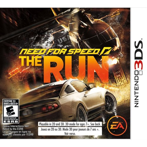 GIOCO 3DS NFS THE RUN