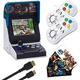 NEOGEO Mini International Collectors Pack: White (Includes NEOGEO Mini, 2 x White Controllers, HDMI Cable, Sticker Kit…