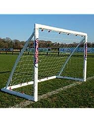 SAMBA Locking Football Goals | The Original Portable Goals with 80% Thicker Corners making them much stronger | Full Range of Sizes