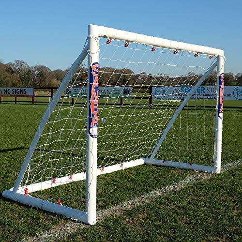 Samba Fußballtor · Wetterfestes Fussballtor für Kinder · neuartiges Einrastsystem (Safe Locking Model) · 1 Fussballtor Garten 1,8 x 1,2m Fußballtor - Samba-fußball