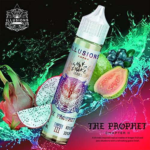 The Prophet (50ml) Plus e Liquid by Illusion Vapor Nikotinfrei
